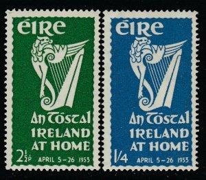 Ireland, Sc 147-148 (SG 154-155), MLH