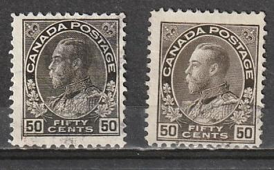 #120,120a Canada Used Admirals