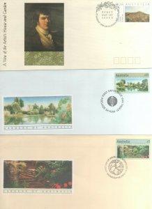 Australian Decimal Stamps FDC 1989 1990 $5 $10 $20 Garden You get 3 FREE POSTAGE