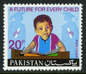 Pakistan 371, MNH. Universal Children's Day. Child, Students, 1974