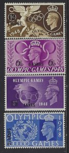 Muscat, Scott #27-30; Olympic Games Issue, MNH