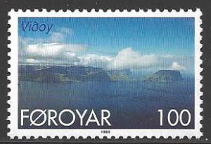 Faroe Islands 1999 100 ore Vidoy, mint never hinged