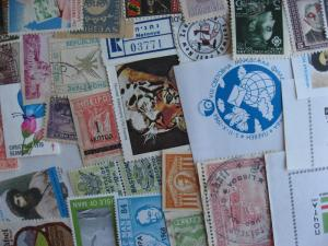 Worldwide mixture (duplicates,mixed cond) of 30 labels, cinderellas, what lurks?
