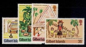 GILBERT ISLANDS QEII SG39-42, complete set, NH MINT.
