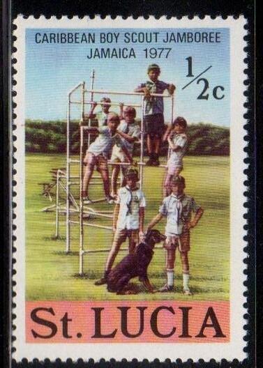 St. Lucia Scott No. 419