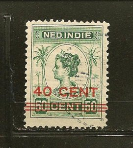 Netherlands Indies 148 Surcharged Used