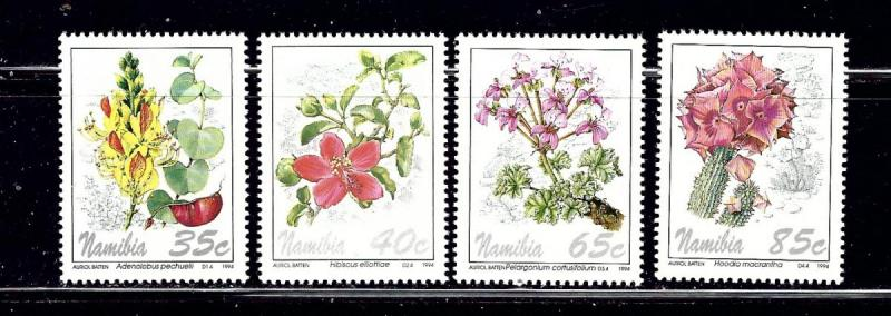 Namibia 762-65 MNH 1994 Flowers