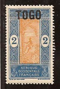 Togo  #  194  Mint .         A