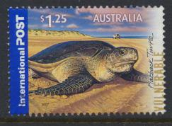 Australia SG 2841  Flatback Turtle International Post 2007