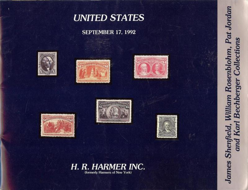 HR Harmer: Sale # 2883  -  United States: James Shenfield...