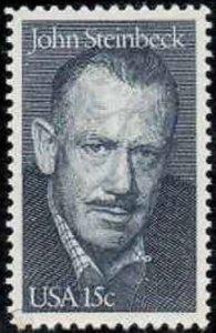 1773 15c John Steinbeck,  Mint NH OG   VF