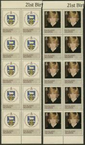 FALKLAND IS. Sc#348-351 1982 Princess Diana Lot of 10 Complete Sets OG Mint NH