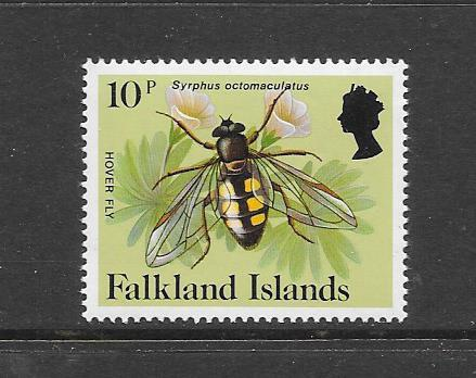 INSECTS - FALKLAND ISLANDS-#396 HOVER FLY   MNH