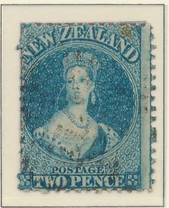 New Zealand Stamp Scott #32, Used - Free U.S. Shipping, Free Worldwide Shippi...