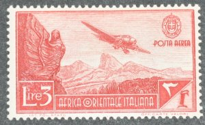 DYNAMITE Stamps: Italian East Africa Scott #C8 – MINT hr