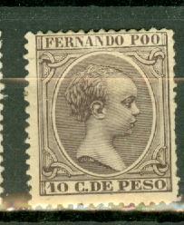 Fernando Po 17 mint CV $450