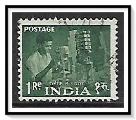India #266 Telephone Factory Worker Used