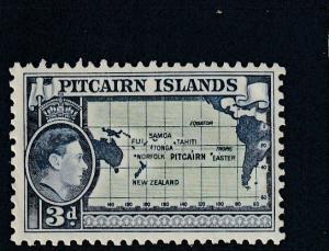 Pitcairn Islands  Scott#  5  MH