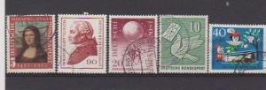 GERMANY STAMPS USED (5) #1144,731,752,844,B411  LOT#190