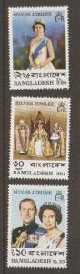 Bangladesh #123-5 MNH
