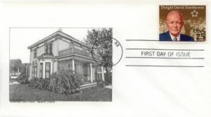 1990 Dwight Eisenhower Centenary (Scott 2513)  DeSpain #9
