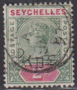 SEYCHELLES - Sc 1 / Used HR - Victoria