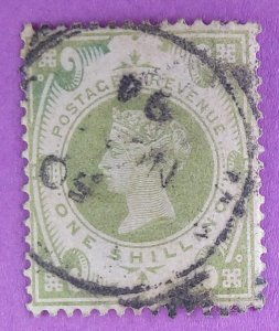 122 - Great Britain, S.O.N cancel. VF Centering. Cat.at $72.50