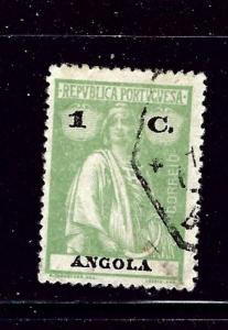 Angola 121 Used 1922 issue