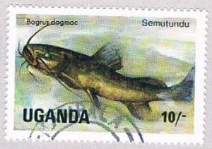 Uganda 433 Used Fish 1985 (BP3191)