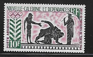 NEW CALEDONIA C38 MNH GREEK AND ROMAN WRESTLING