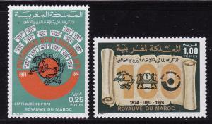 Morocco #316-17 F-VF Mint NH ** U.P.U.