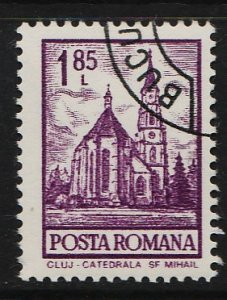 Romania 1972 National Monuments 1.85L (1/20) USED