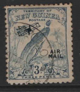 NEW GUINEA  C33  USED AIRMAIL