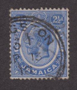 Jamaica 64a  King George V 1912