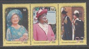 Grenada Grenadines 1186-1188 Queen Mother MNH VF