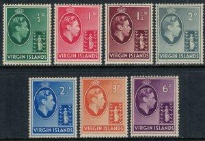 Virgin Is. #76-82*  CV $11.90