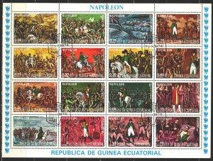Equatorial Guinea. 1977. 1165-80. Napoleon. USED.