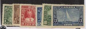 Canada - 1935 Silver Jubilee Complete mint #211-216