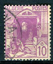 Algeria; 1926: Sc. # 37: O/Used Single Stamp