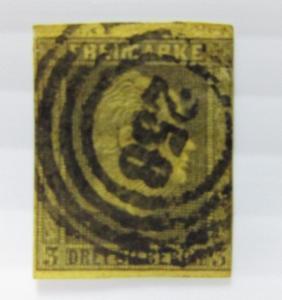German States Prusia SC #5  used stamp