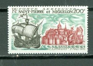 ST.PIERRE & MIQUELON SHIP #C43...MNH...$52.50