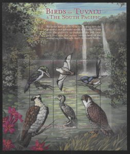 Tuvalu 833 Birds of Tuvalu Mini-Sheet MNH c.v. $7.50