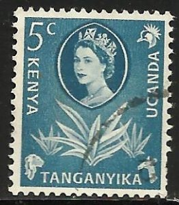 Kenya, Uganda & Tanzania 1960 Scott# 120 Used
