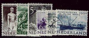 Netherlands  SC B208-B213 Used VF SCV$21.70...Worth a Close Look!