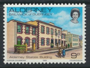 Alderney  SG A3  SC# 3 1983 Definitive  Building  MNH  see scan