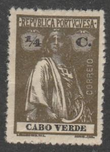 Cabo Verde  1914  Scott No. 144  (N*)