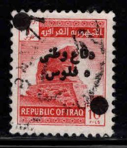 IRAQ Scott RA8 Used surcharged stamp