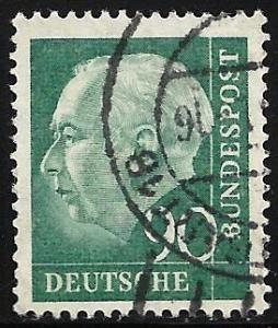 Germany 1957 Scott # 761 Used