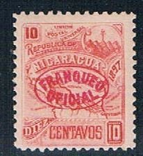 Nicaragua Numeral 10 (NP7R604)
