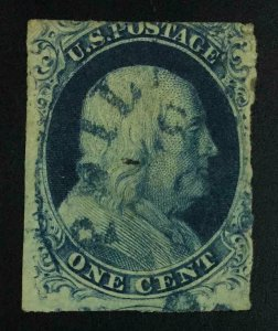 MOMEN: US STAMPS #9 USED LOT #54356
